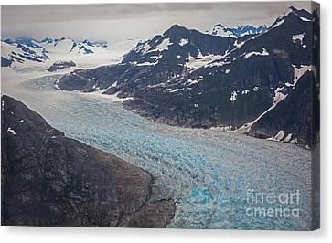 Leconte Glacial Flow Canvas Print
