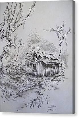 Left Alone Canvas Print by Tom Rechsteiner