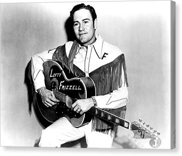 Lefty Frizzell, 1950s Canvas Print by Everett
