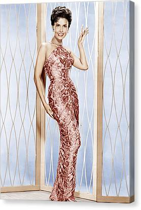 1950s Portraits Canvas Print - Lena Horne, Ca. 1950s by Everett
