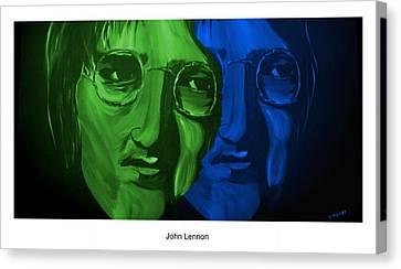Lennon Canvas Print by Mark Moore
