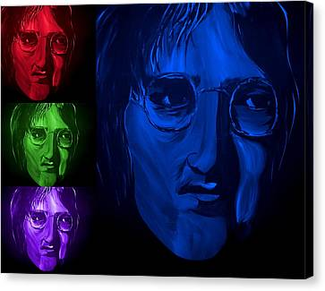 Lennon The Legend Canvas Print by Mark Moore