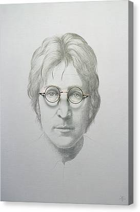 Lennon  Canvas Print by Trevor Neal