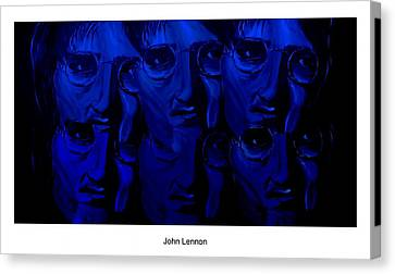 Silver Moonlight Canvas Print - Lennon's World by Mark Moore