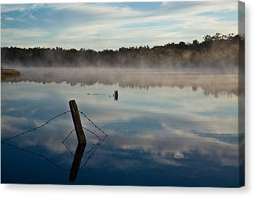 Lenthalls Dam 02 Canvas Print by David Barringhaus