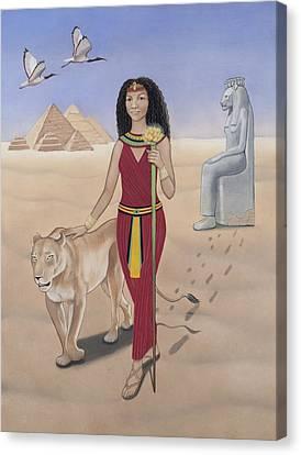 Leo / Sekhmet Canvas Print