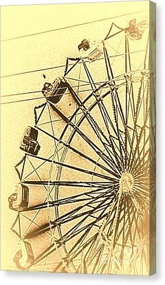 Leonardos Other Sketchbook Canvas Print by Joe Jake Pratt
