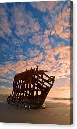 Fort Stevens State Park Canvas Print - Leopard Clouds by Dan Mihai