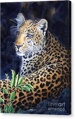 Leopard  Sold  Prints Available Canvas Print