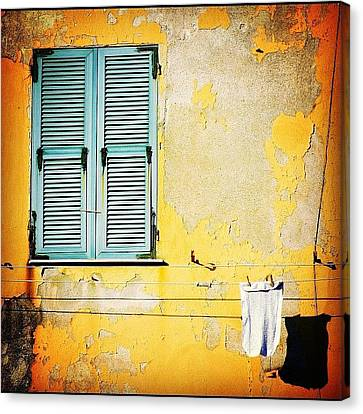 Let It All Hang Out #italy #wall Canvas Print by A Rey