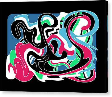 Let It Flow Canvas Print by Noah Hornberger
