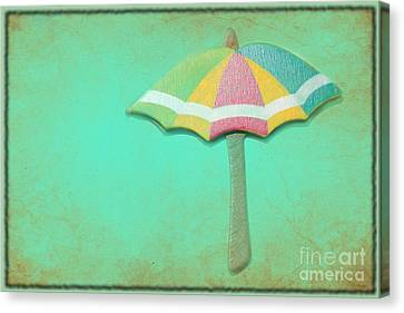 Let It Rain 1 Canvas Print by Sophie Vigneault