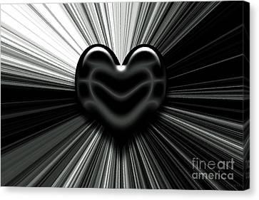 Let Love Shine Canvas Print by J Jaiam