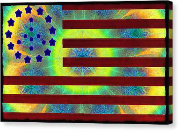 Let Your Freak Flag Fly Canvas Print by Bill Cannon