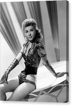 Lets Be Happy, Vera-ellen, 1957 Canvas Print