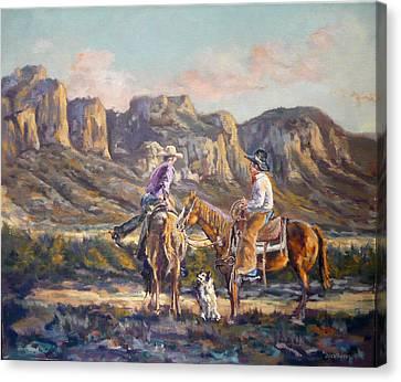Lets Ride Canvas Print