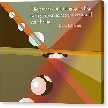 Letting Go Canvas Print by Ian  MacDonald