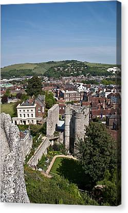Lewes East Sussex Canvas Print by Dawn OConnor