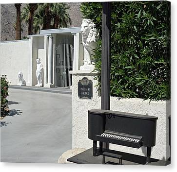 Liberace's Driveway Canvas Print by Randall Weidner