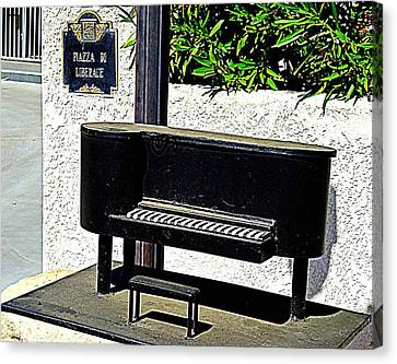 Liberace's Mailbox Canvas Print by Randall Weidner