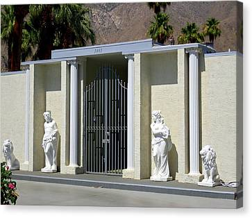 Liberace's Statuary Canvas Print by Randall Weidner