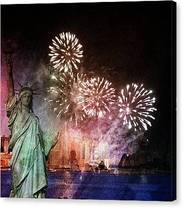 Liberty Canvas Print by Elizabeth  Doran
