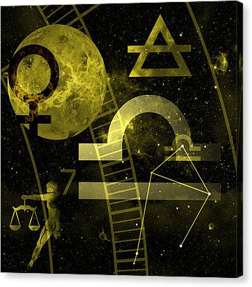 Libra Canvas Print by JP Rhea