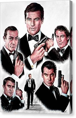 Licence To Kill  Digital Canvas Print by Andrew Read