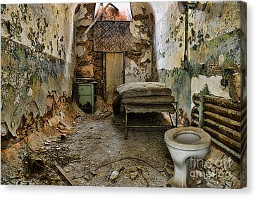 Life In Prison Canvas Print by Paul Ward