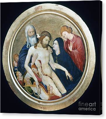 Life Of Christ Canvas Print by Granger