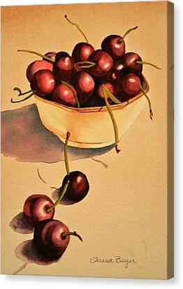 Canvas Print featuring the painting Life by Teresa Beyer
