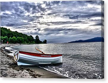 Canvas Print featuring the photograph Lifeboat by Scott Holmes