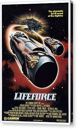 Lifeforce, 1985 Canvas Print by Everett