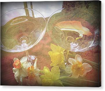 Canvas Print featuring the photograph Life's Simple Pleasures by Kay Novy