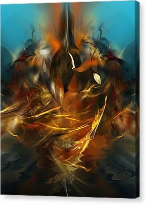 Lift Off Canvas Print by David Lane