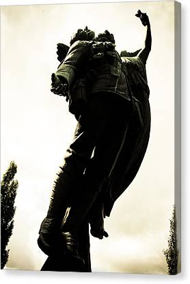 Lifted Up To Heaven Canvas Print by Michael Knight