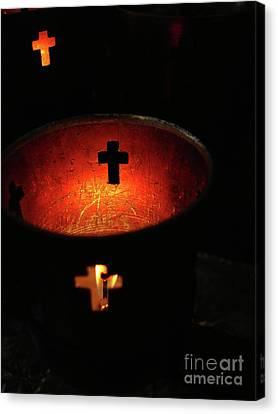 Light A Candle Canvas Print by Joe Jake Pratt