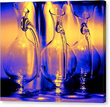 Light And Colors Play I Canvas Print by Jenny Rainbow
