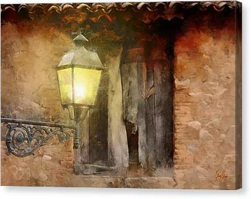 Light By The Window  Canvas Print