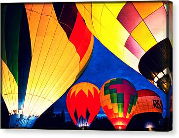 Light 'em Up Canvas Print by Brian Bonham