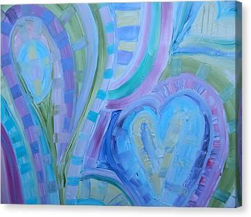 Light Hearts Canvas Print