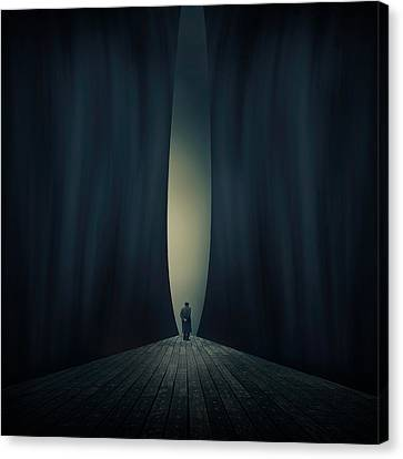 Light Canvas Print by Ian Barber