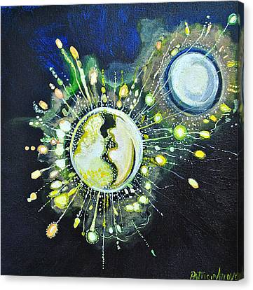Light Music Canvas Print by Patricia Arroyo