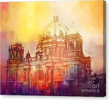 Light Over Berlin Canvas Print