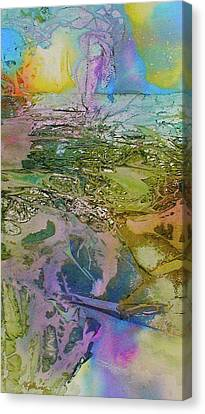 Canvas Print featuring the painting Light Play by Mary Sullivan