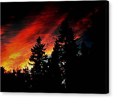 Light The Fire II Canvas Print by Kevin D Davis