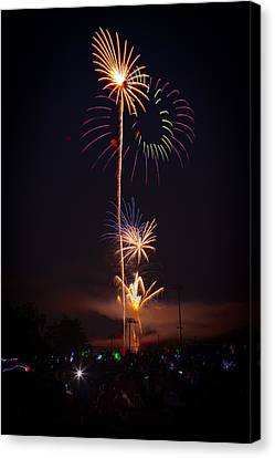 Light Up The Night Canvas Print by David Hahn