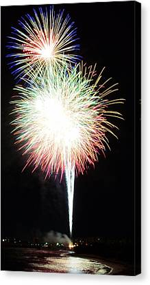 Light Up The Night Canvas Print by David Morefield
