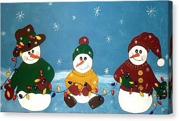 Lighten Up.. Canvas Print by Cindy Micklos