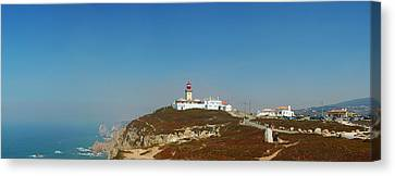 Lighthouse At Cabo Da Roca Canvas Print